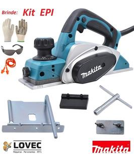 Plaina Elétrica Makita Kp0800 82mm 620w 110 Volts + Forte