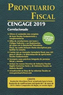 Prontuario Fiscal Cengage 2019 Correlacionado Nuevo Original