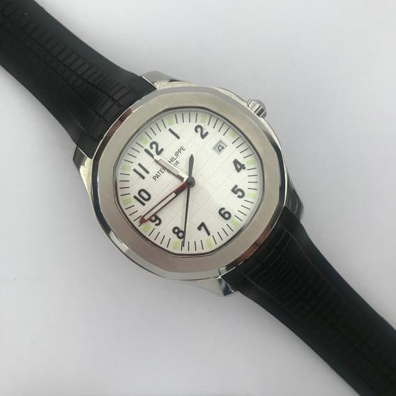 Reloj Patek Philippe Aquanaut Acero Inoxidable Caucho Zafiro 146pp