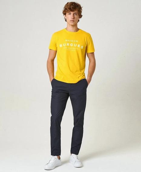 Remera El Burgués Iconic Amarillo Promo!!!