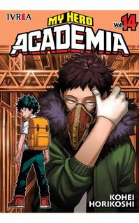 My Hero Academia - N14 - Ivrea - Sobrecubierta - Manga