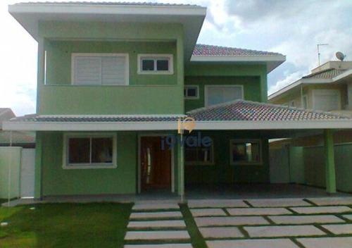 Casa Residencial À Venda, Jardim Altos De Santana I, Jacareí - Ca0388. - Ca0388