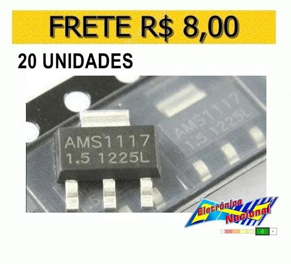 Regulador Tensao Ams1117 1v5 1.5v - Lote 20 Unidades