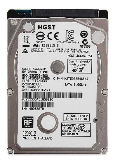 Disco rígido interno Hitachi Travelstar HTS545050A7E380 500GB