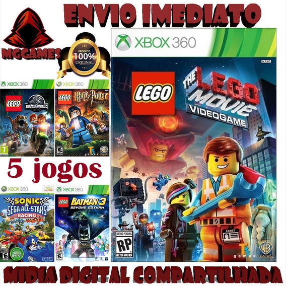 Lego Movie® Xbox 360 - Midia Digital Compartilhada