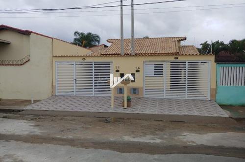 Imagem 1 de 14 de Casa Nova Itanhaém 400 Mts Do Mar, Com Piscina 3 Vagas.