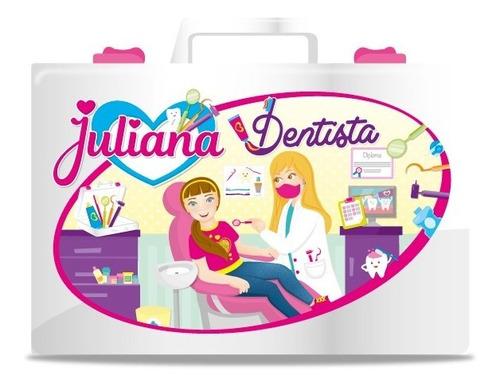 Imagen 1 de 5 de Valija Juliana Dentista Con Accesorios Jul02 Original Edu