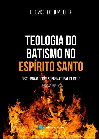 Livro Teologia Do Batismo No Espirito Santo