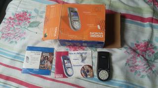 Celular Nokia 3650 Para Colecionadores