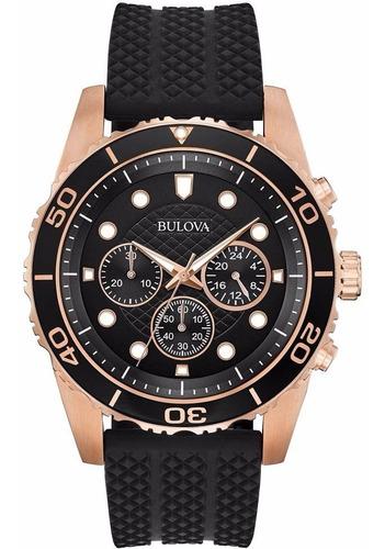 Reloj Bulova Para Caballero Modelo: 98a192  Envio Gratis