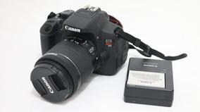 Câmera Canon T5i + Lente 18-55 + Bateria + Carregador
