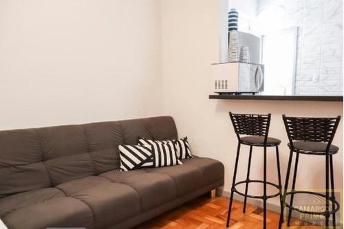 Imagem 1 de 9 de Apartamento Com 1 Dormitório Na Região Da Bela Vista! - Eb87355