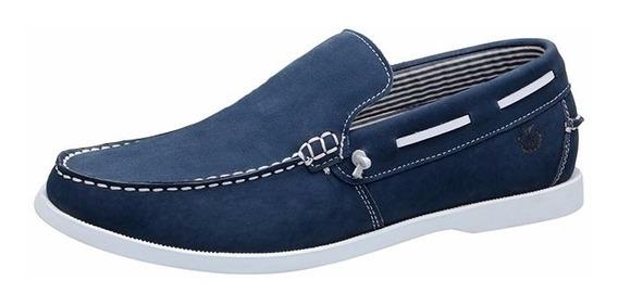 Mocassim Masculino Tamanho Especial Em Couro Shoes Grand