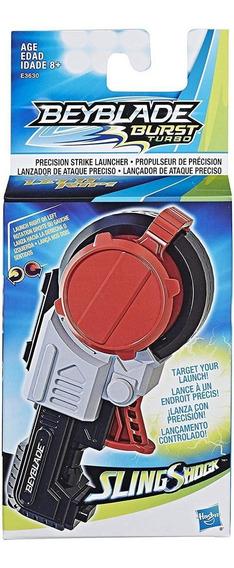 Beyblade Burst Turbo - Lançador Ataque Preciso Slingshock