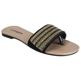 9314d62a7 Pittol Calcados Rasteiras Via Uno - Sapatos no Mercado Livre Brasil
