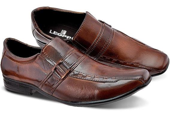 Sapato Social Masculino Couro Legítimo Exclusividade