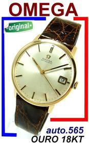 Omega Automatic 565 Ouro 18k 750 Suíço 100% Original 1966!