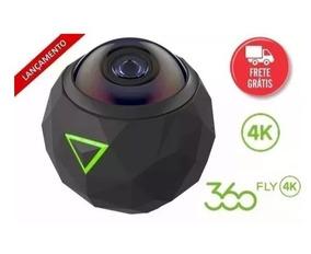 Filmadora Panoramica Fly 360 Graus 4k Nf + Frete Gratis