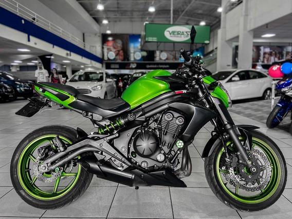 Kawasaki Er6n 650 Ano 2013 Financiamos Em 36x Moto Nova