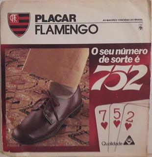 1169 Mvd- 1976 Lp Compacto- Placar Hino Do Flamengo- Banda D