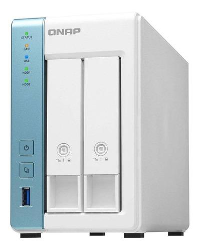 Imagem 1 de 1 de Storage Qnap Nas Alpine Quad-core 1.7ghz  Ts-231p3-2g Dados