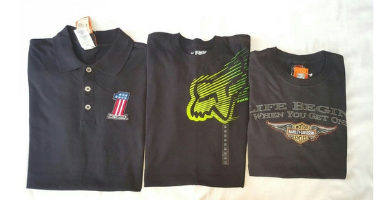 Playera Harley Davison Fox Motocross