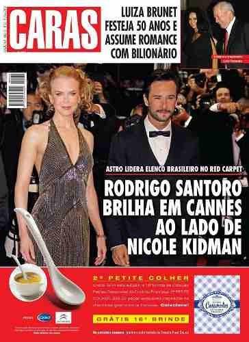 Revista Caras Nº 969 Rodrigo Santoro / Nicole Kidman