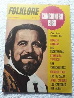 Revista Folklore Cancionero 1968 Horacio Guarany Atahualpa