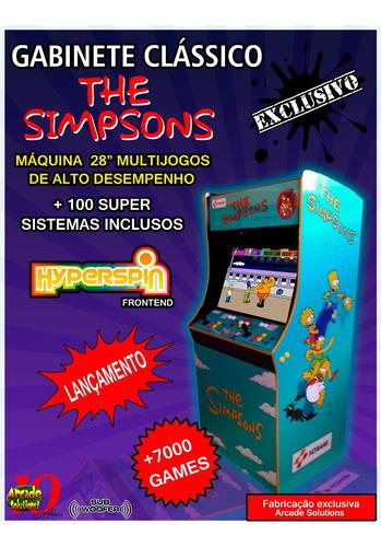 Fliperama Multijogos 28 Super Completo!...110 Sistemas!