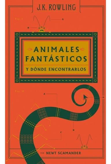 Animales Fantásticos Y Donde Encontrarlos - J K Rowling