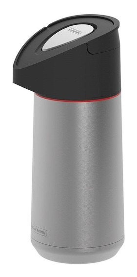 Garrafa Térmica Tramontina Exata Aço Inox Com Ampola De Aço