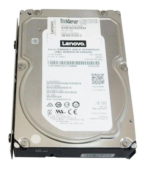 Disco Rigido Lenovo 2tb 7.2 Sata 6gb 3.5´hs