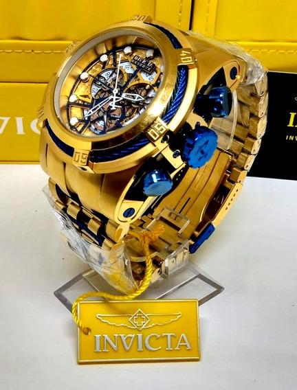 Relógio Original Zeus Bolt Skeleton 12762 Frete Gratis