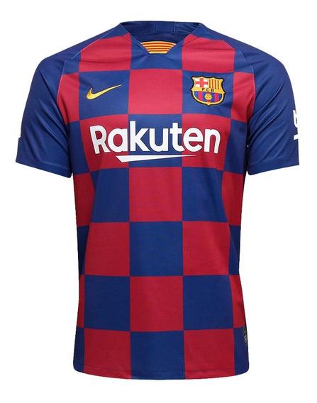 Camisa Barcelona I Nova 2019/20 Original Frete Grátis