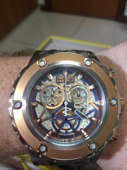 Relógio Invicta Subaqua 13741 Cosc Swiss Made Original