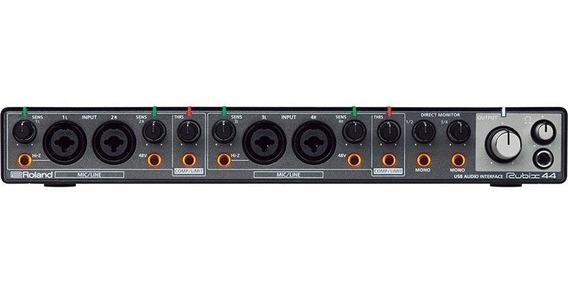 Interface De Áudio Usb Para Mac, Pc E iPad Com 4 Entradas