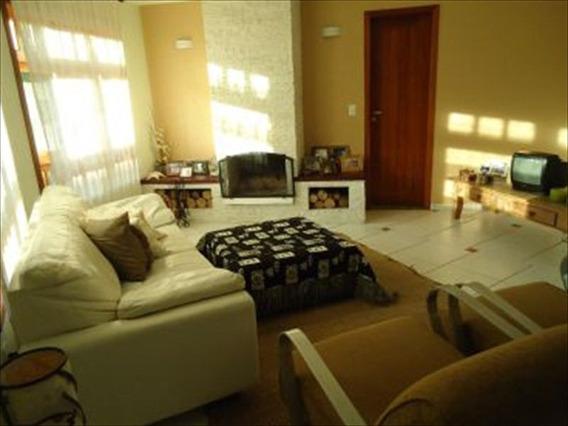 Ref.: 129 - Casa Condomínio Fechado Em Bertioga, No Bairro Hanga Roa - 5 Dormitórios