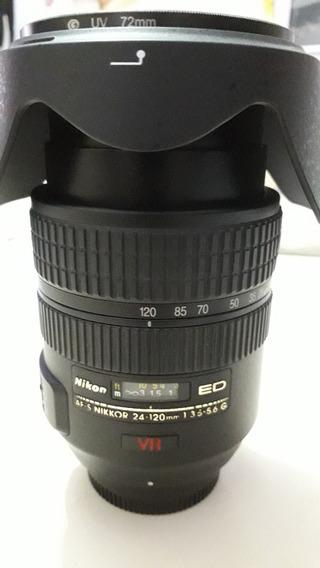 Lente Nikon 24-120 3.5.5.6 Full Frame