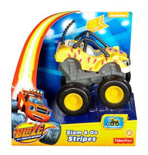 Blaze Y Los Monster Machines - Stripes - Friccion - Fisher