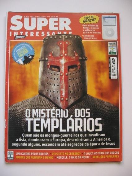 Revista Super Interessante - 223 - O Mistério Dos Templários