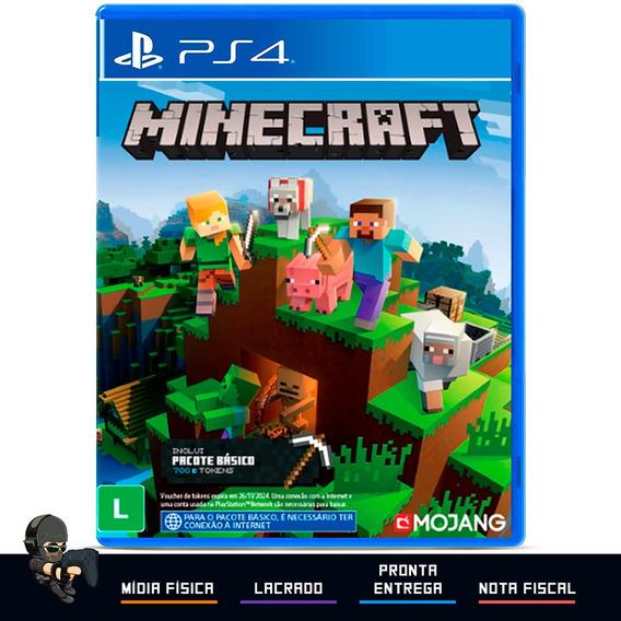 Minecraft Starter Collection Jogo Ps4 Mídia Física Lacrado