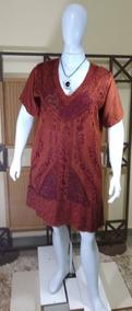 Vestido Moda Evangélica / Moda Indiana /bordado\plus C220