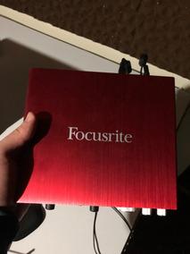 Placa De Audio Focusrite Scarlett 6i6 Generation 2.