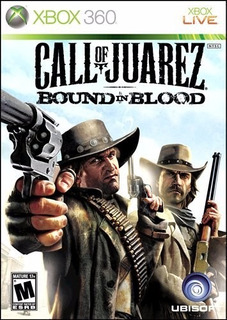 Call Of Juarez Bound In Blood - Xbox 360 (físico) Id