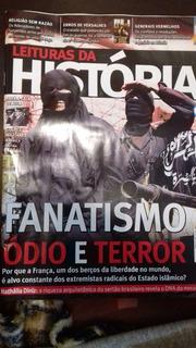 Revista Leitura Da História Edição 96 Fanatismo Ódio Terror.