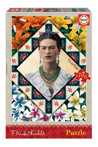 Puzzle Rompecabeza 500 Piezas Frida Kahlo Educa 18483