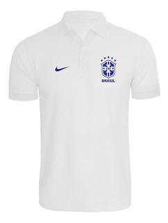 Camisa Camiseta Polo Seleção Brasileira