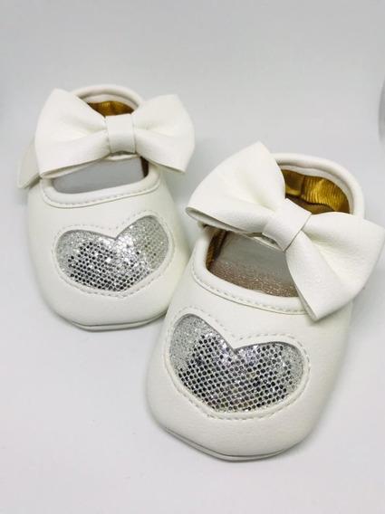 Zapatos Bebes Niña Corazon Precio Mayoreo 25 Piezas Mixtas