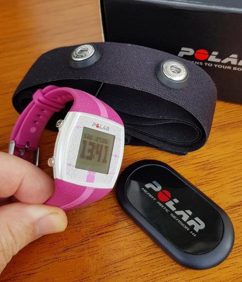 Relógio Monitor Cardíaco Polar Ft4 Rosa (pink)