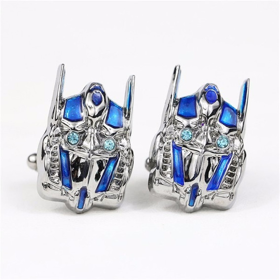 Abotoadura Transformers Optimus Prime
